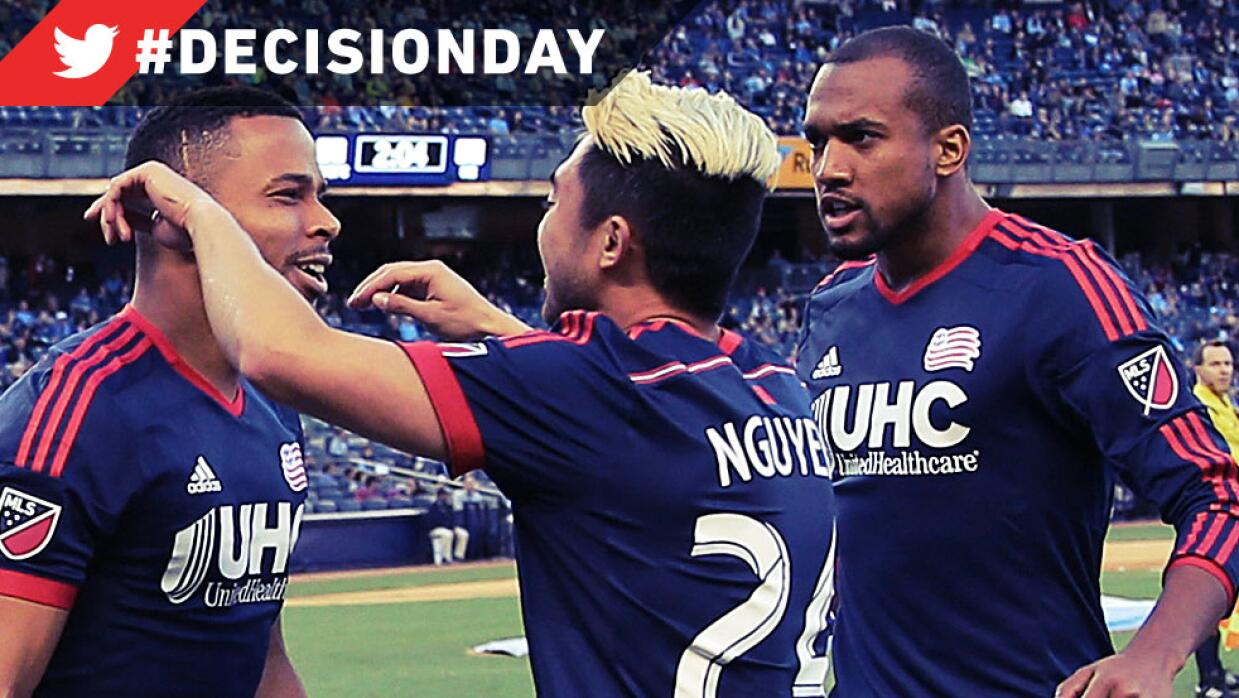 NE Revolution celebra pase a Playoffs