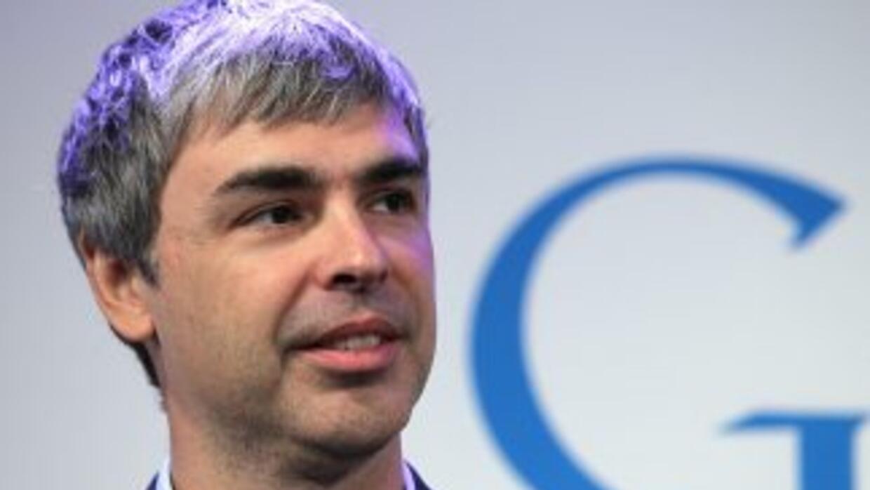 Larry Page, CEO de Google.