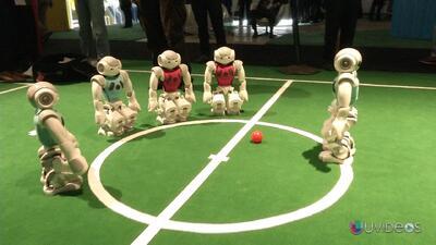 Un mundial de fútbol jugado por robots