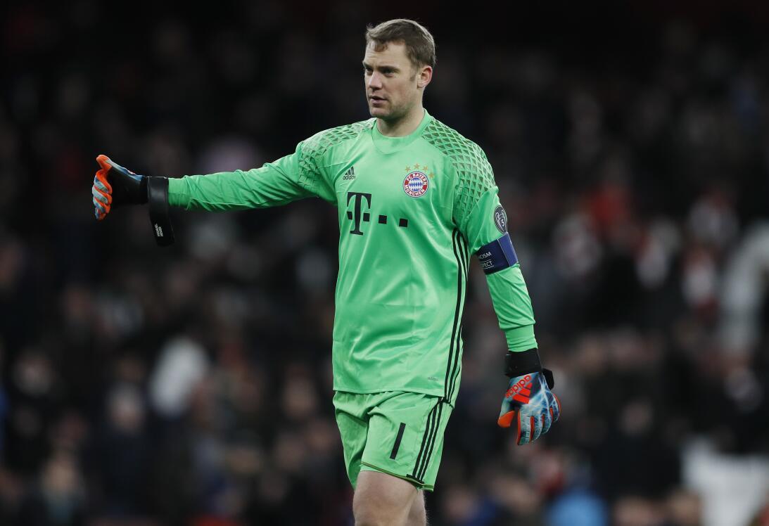 5. Manuel Neuer (Bayern Múnich) - Alemania