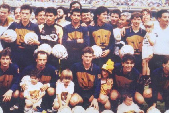 En el torneo 90-91, por fin Universidad cobró revancha de las dos...