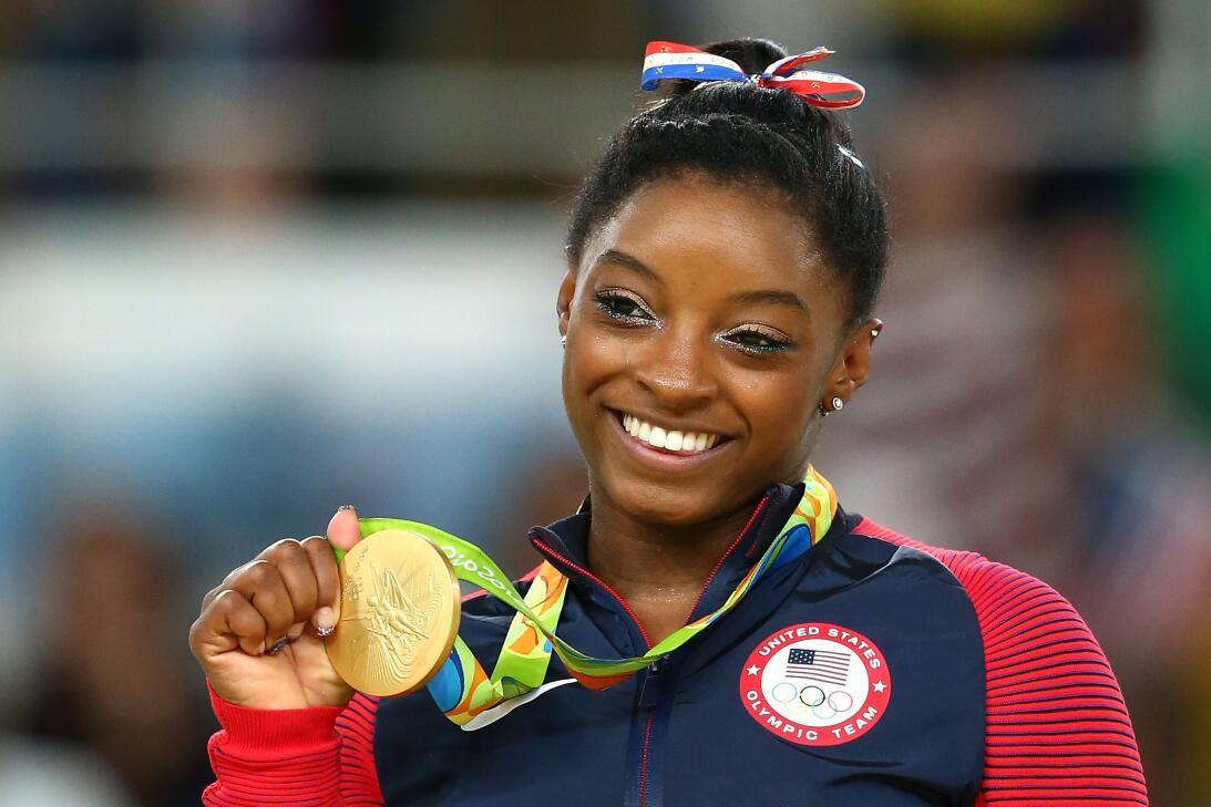 Simone Biles (Estados Unidos) - la sensación de la gimnasia en Río 2016...