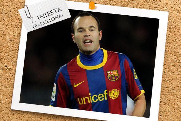 Andrés Iniesta confirmó su gran momento con un gol en el triunfo del Bar...