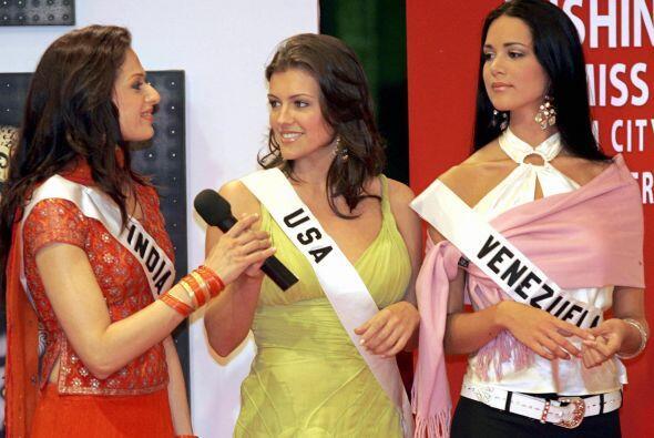 La modelo ocupó el cuarto lugar en la competencia.