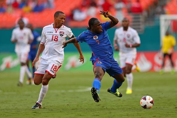Trinidad y Tobago llegó a la segunda jornada del Grupo B de la Copa Oro...