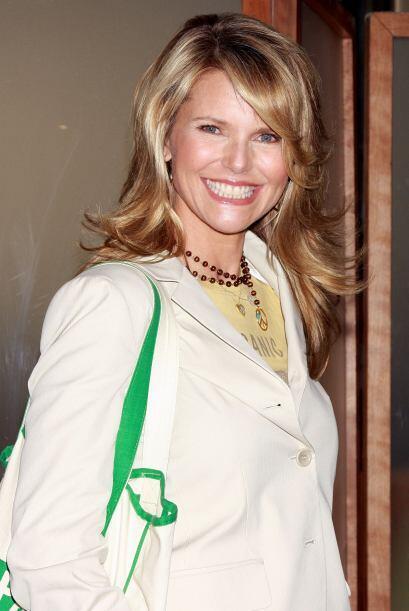 Christie en abril de 2008 en un evento para apoyar productos orgánicos....