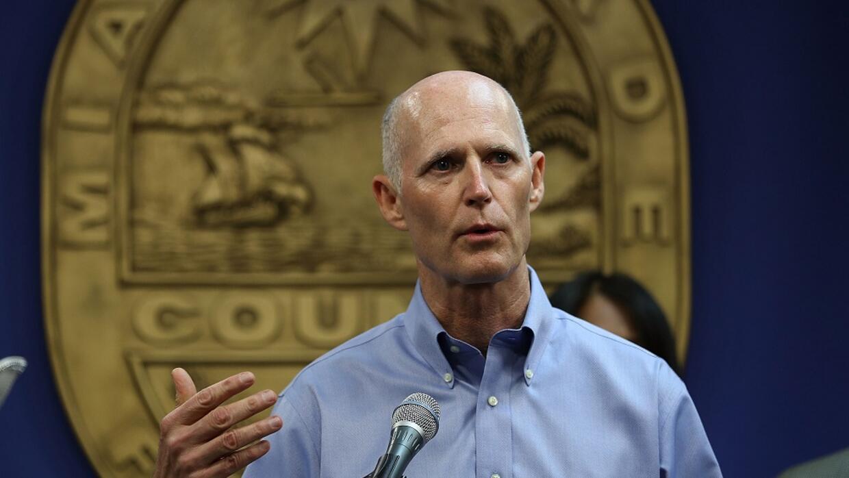 Rick Scott, gobernador de Florida, solicitó al presidente Trump apoyo fi...