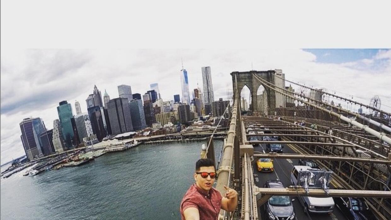 David Karnauch publicó esta fotografía en su cuenta de Instagram