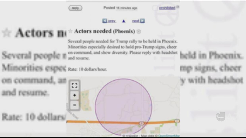 Despierta controversia un anuncio de Craigslist buscando actores para ap...