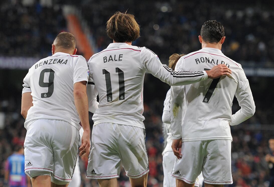 ¡Miedo! Los tríos ofensivos que dominan el fútbol de Europa GettyImages-...