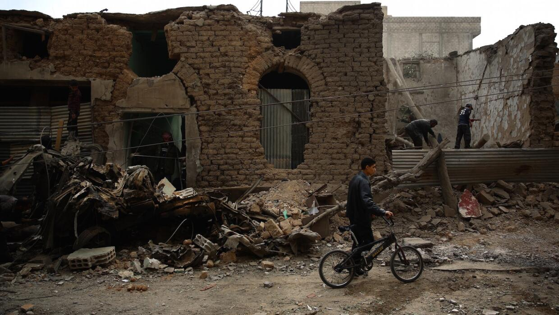 Mercado de Damasco bombardeado por fuerzas de al-Assad