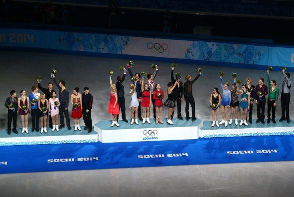 Al final Rusia se llevó el oro el primer oro por equipos de la historia...