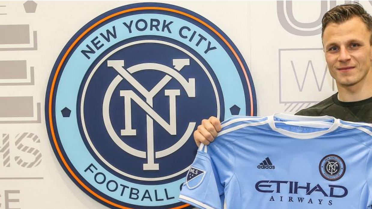 Frédéric Brillant, jugador de New York City FC
