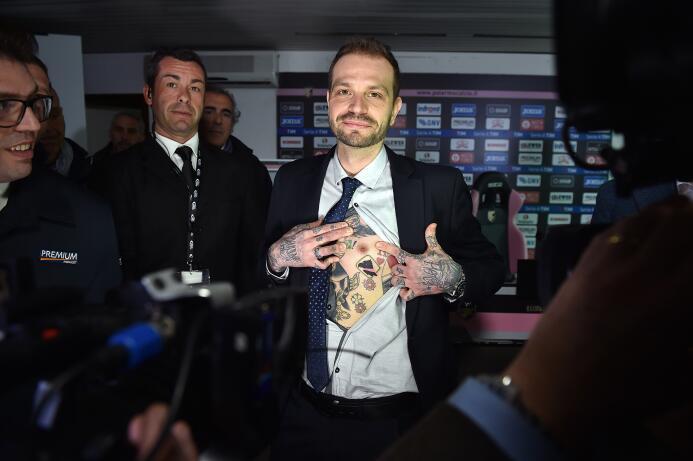 'Me tatuaré la cara si el Palermo se salva' GettyImages-649128176.jpg