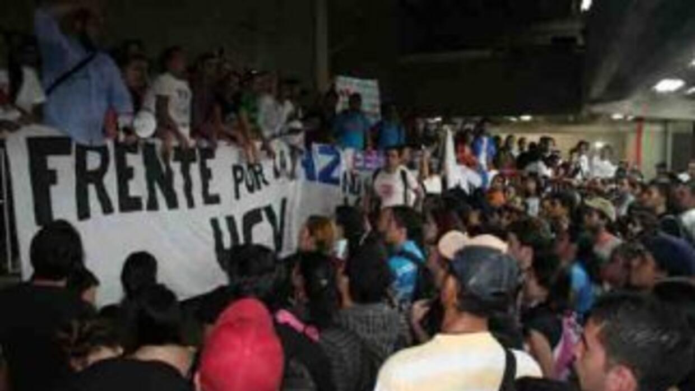 Estudiantes venezolanos.