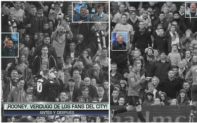 Hallazgo: cuatro años después, los mismos fans del City insultaron con i...