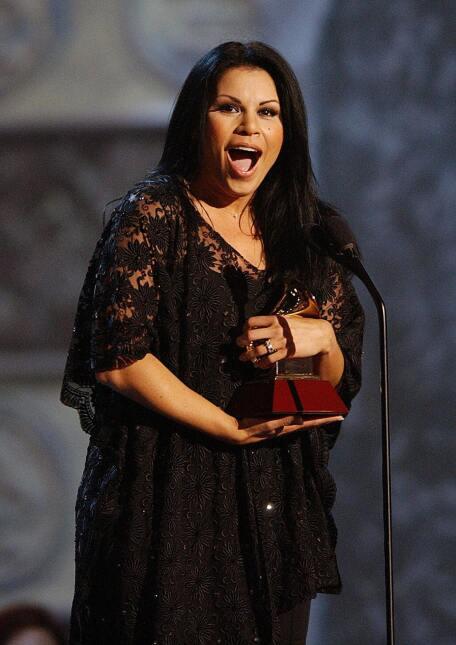 La puertorriqueña Olga Tañón ganó en 2004 en la categoría de Mejor Álbum...