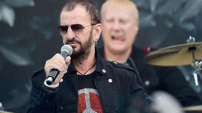 Ringo Starr, el afamado ex Beatle, también publicó su sentor en su cuent...