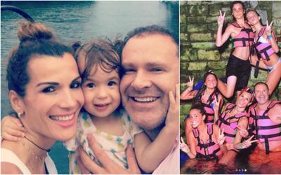 Alan Tacher y su familia