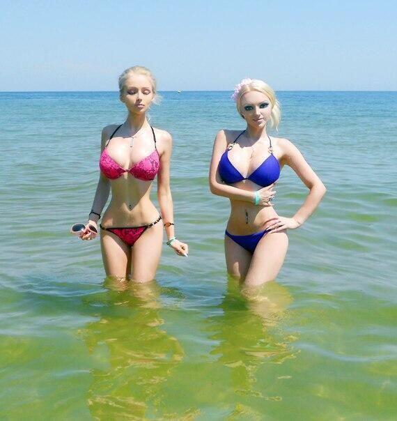Esta chica también es ucraniana, y además es amiga de Valeria Luckyanova.