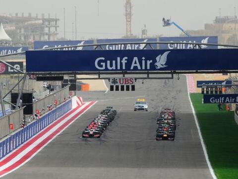 El GP de Bahrein se llevó a cabo a pesar de los conflictos social...