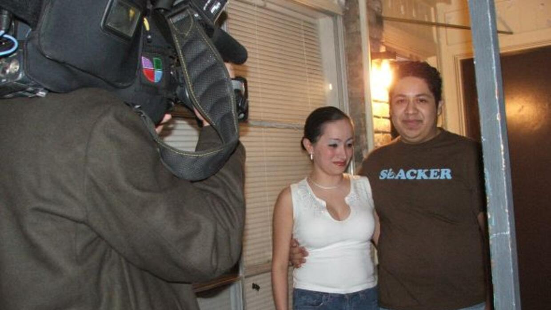 Mónica Heredia recibió esta gran sorpresa de su esposo quien participó e...