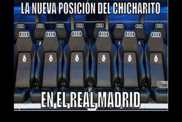 Las reacciones a la llegada del mexicano al Real Madrid no se hicieron e...