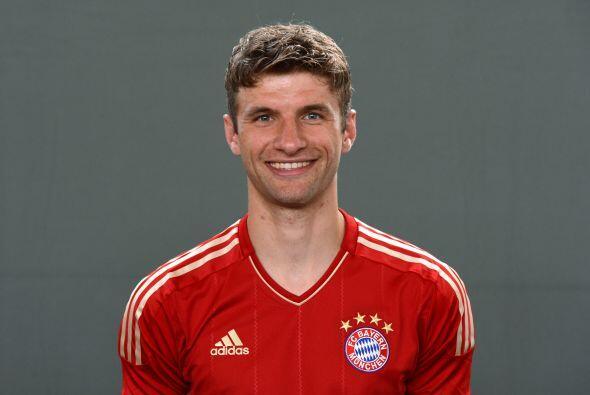 Medio, Thomas Müller: Este mediocampista fue vital en la goleada del Bay...
