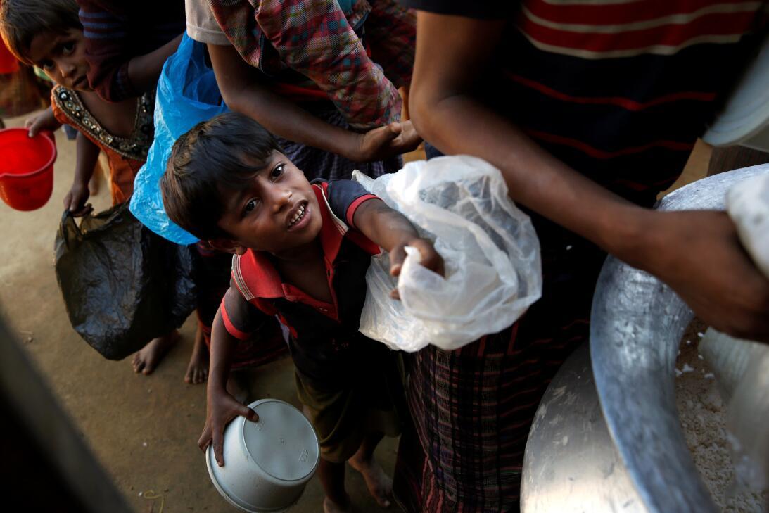 Niños Rohingya