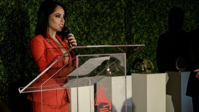"""""""Selena, Jennifer López y Jenni Rivera me enseñaron"""": el potente mensaje de Becky G al ser reconocida por los Latin GRAMMY"""