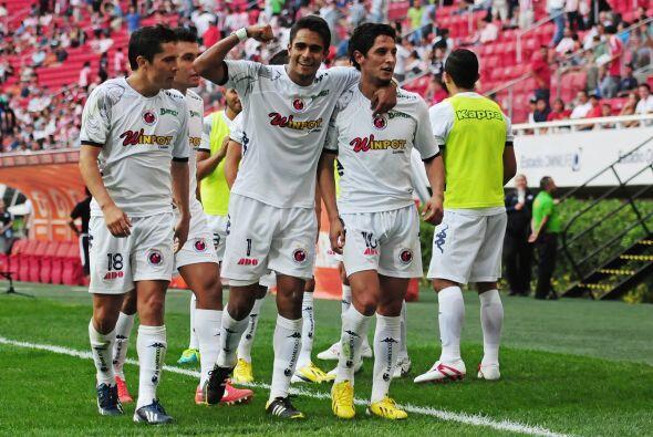 Desde su regreso a primera división el Veracruz se mantiene invicto ante...