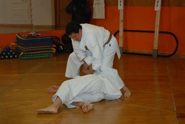 Tras tantos años practicando, Jorge es todo un experto en k&aacut...