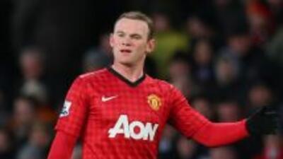 Rooney sumó otro título de Liga con los 'Red Devils'.