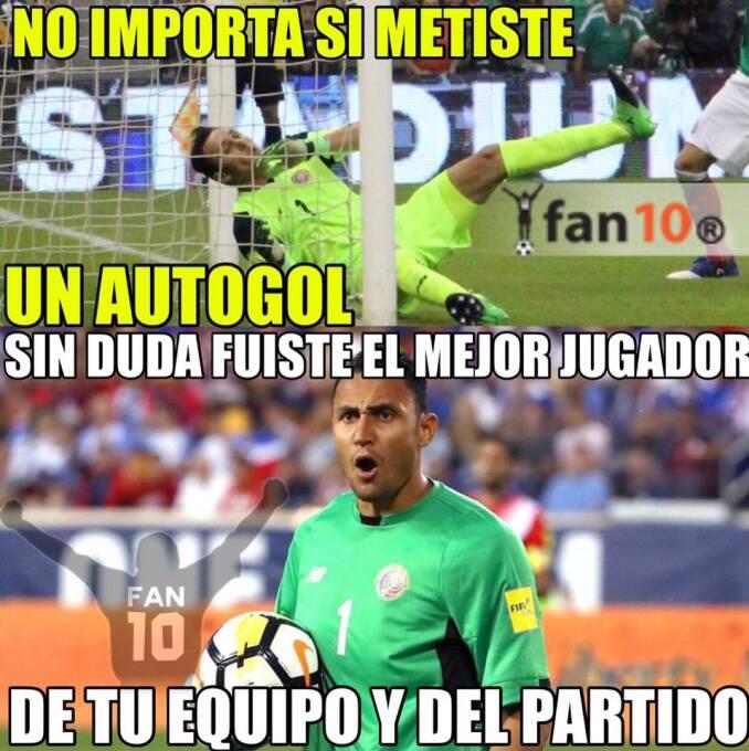Keylor Navas, Memo Ochoa, Chicharito y el empate de último minuto son lo...