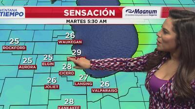 Ventana al Tiempo: Descenso en las temperaturas sin posibilidad de lluvias este martes en Chicago