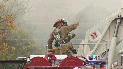 Incendio deja a varias familias sin hogar