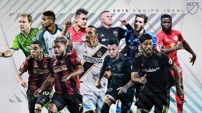 Carlos Vela, Josef Martínez y Zlatan Ibrahimovic encabezan el Once Ideal 2018 de la MLS
