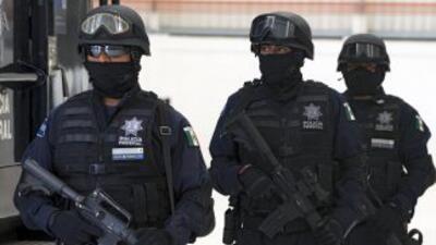 Según las leyes de México, sólo sus agentes pueden estar en el país port...