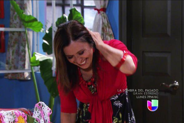Usted es una heroína doña Lupita, Nandito se pondrá feliz con la noticia...