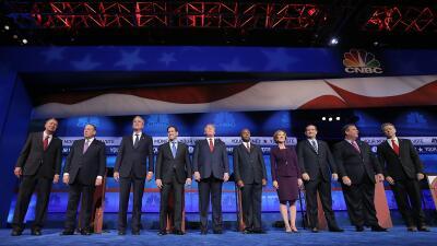 Los diez candidatos
