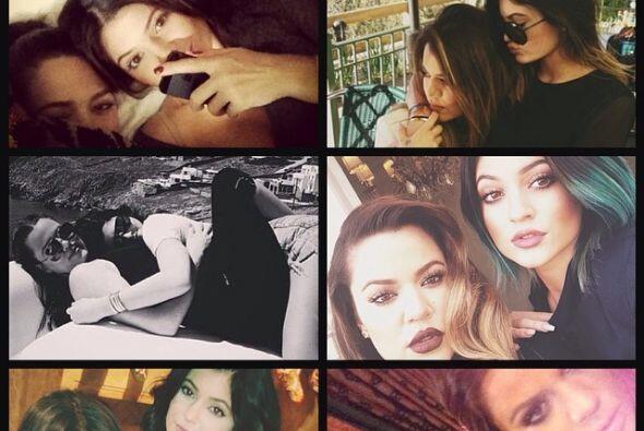 Khloé compartió esta serie de fotos.