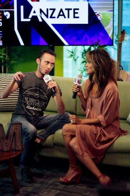 Halle Berry en Univision Chicago