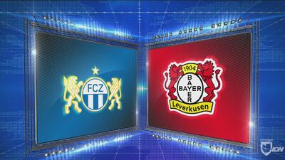 Zurich 3-2 Leverkusen - GOLES Y RESUMEN - Grupo A UEFA Europa League