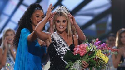 Emocionada pero confundida: Miss Nebraska habla sobre su coronación como Miss USA 2018