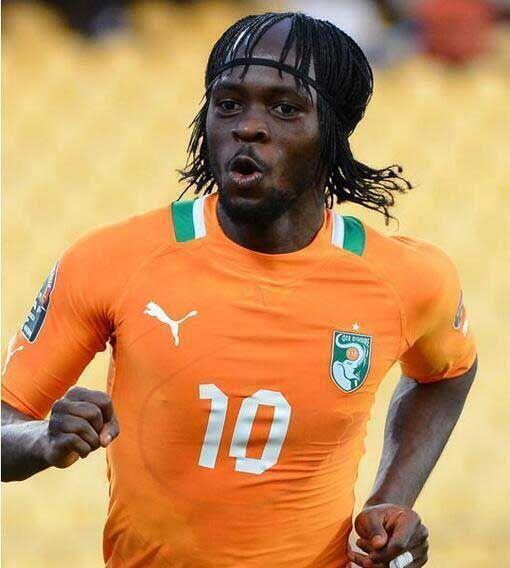 Gervinho (Costa de Marfil). Foto tomada de Twitter | Usuario @FutbolMode...