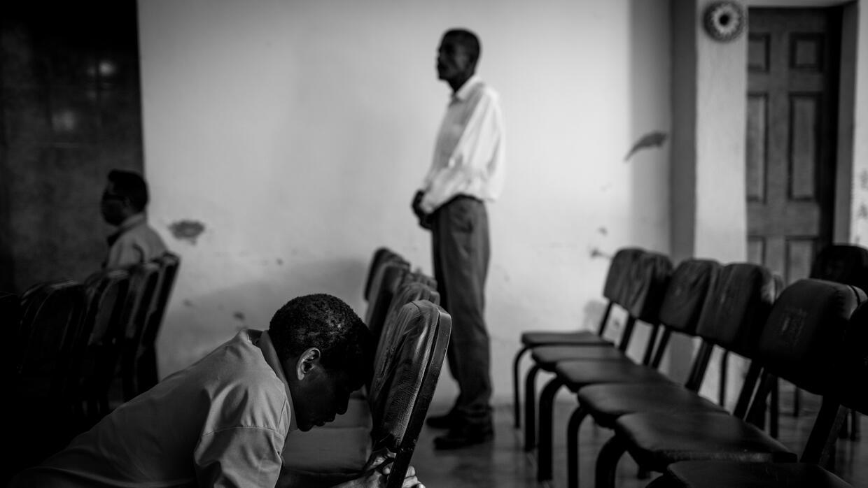 Iglesia 'Liberados en marcha', donde Saul va a rezar con otros e...