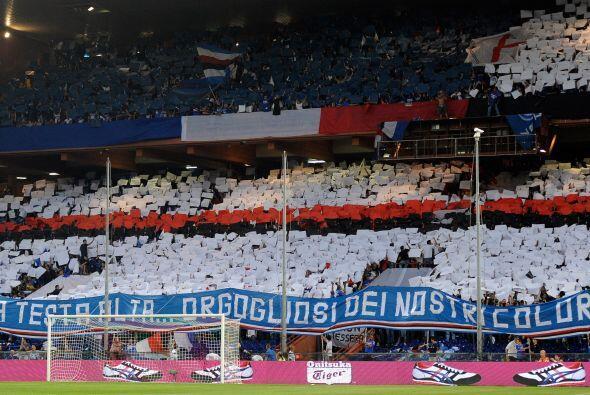 La Sampdoria está en graves problemas de descenso y si no ganaba se mant...