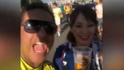 Estos videos demuestran el acoso de los fanáticos a las mujeres en el Mundial de Rusia