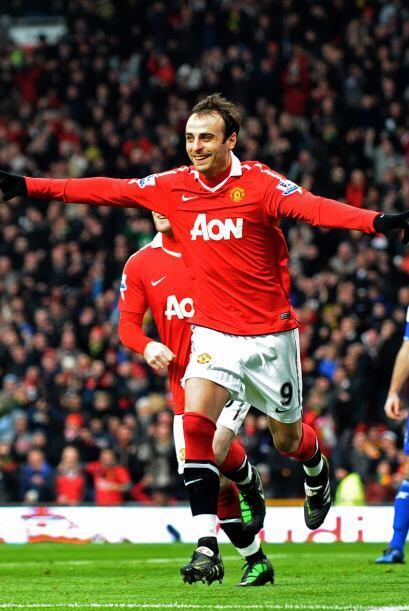 Dimitar Berbatov es el goleador de la Liga Premier. El búlgaro era titul...