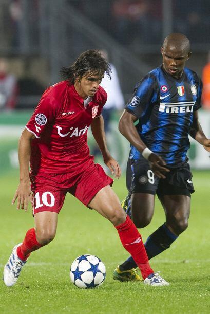 El actual campeón, Inter de Milán, fue al campo del Twente, monarca de l...